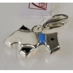 Charms piesek - srebrna zawieszka do bransoletki