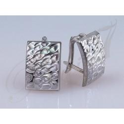 Kolczyki - niezwykle eleganckie z pięknym perłowym połyskiem.
