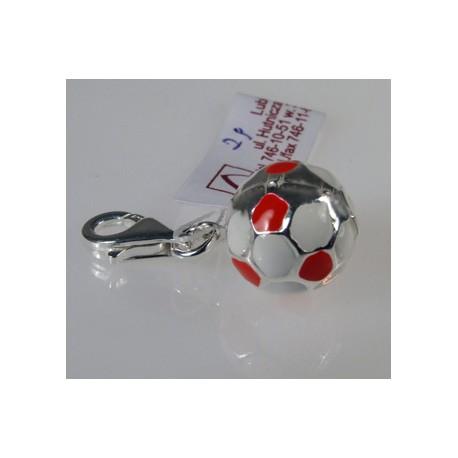 Charms piłka nożna - srebrna zawieszka do bransoletki